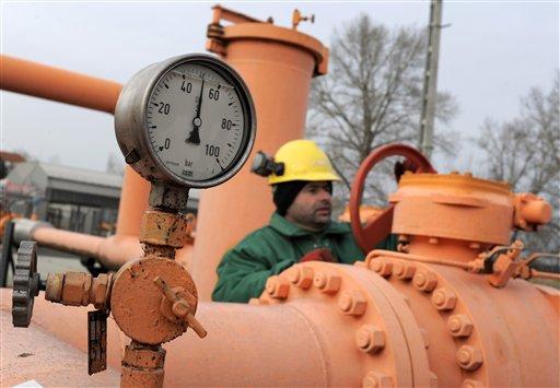 Hungary Russia Ukraine Gas